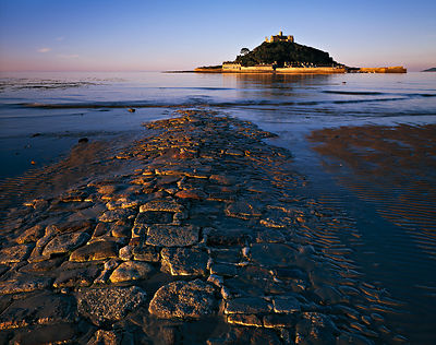 A majestic landmark off the shore from Marazion, St Michael's Mount is a wonderful place to visit. The causeway is illuminate...