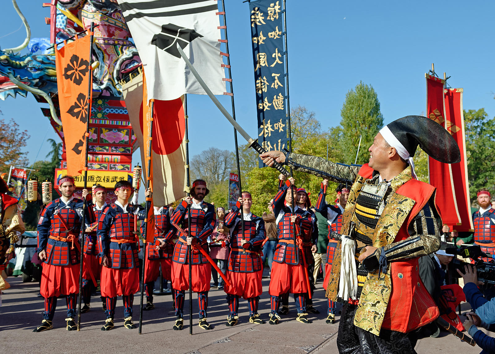Grand Matsuri, Paris, Jardin d'acclimatation, octobre 2018