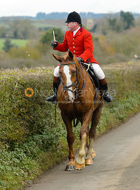 John Holliday - The Belvoir Hunt at Debdale Farm