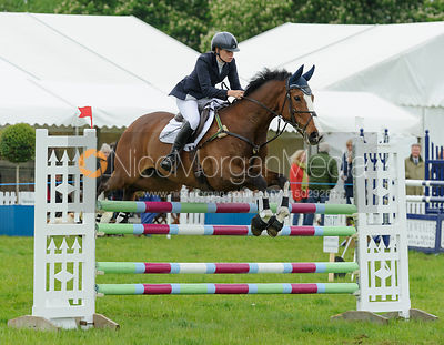 Gina Ruck and CAREFUL NUMO - Rockingham Castle International Horse Trials 2016