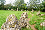 Kings Men Stone Circle, Rollright Stones- Near Long Compton, England