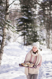 Picnic in the Snow