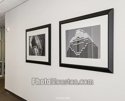 Framed black & white photography