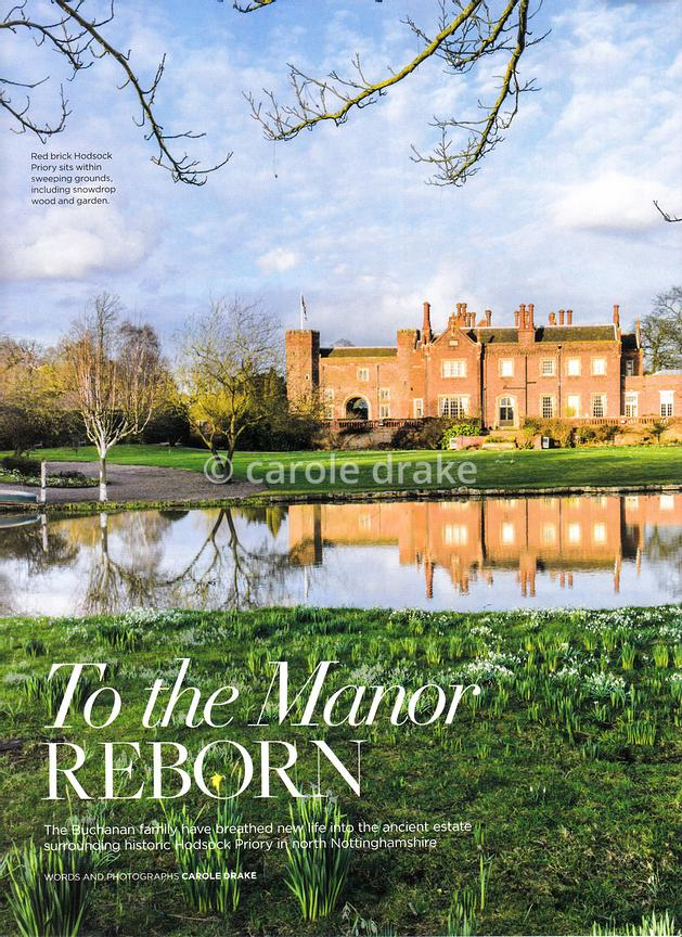 Hodsock Priory, The English Garden, March 2018