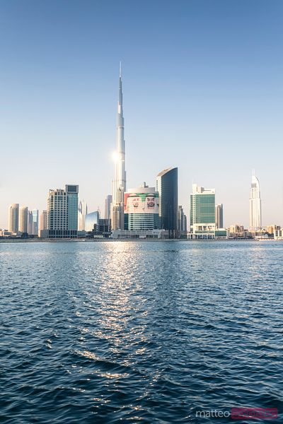 United Arab Emirates, Dubai, Cityscape from business bay