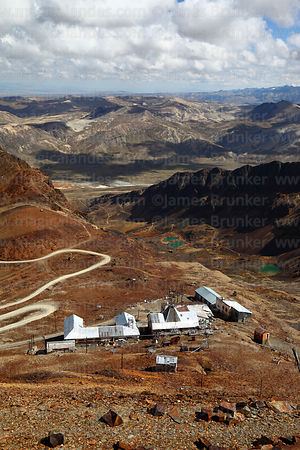 Chacaltaya Astrophysical Observatory on slopes of Mt Chacaltaya, Cordillera Real, Bolivia