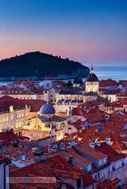 Old Town at night, Dubrovnik - BP4708