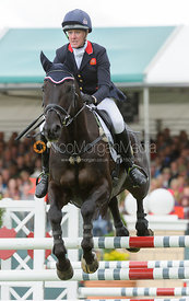 Nicola Wilson and OPPOSITION BUZZ - show jumping phase, Burghley Horse Trials 2013.
