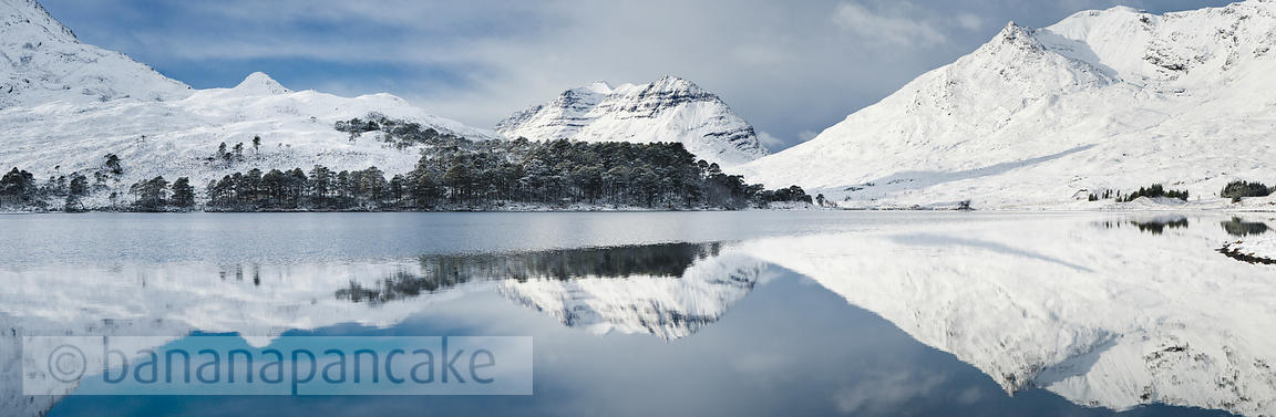 BP2281 - Liathach from Loch Clair, Glen Torridon