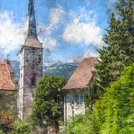 Martinskirche, Chur, Switzerland