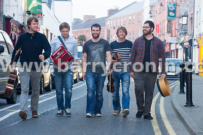 12th September, 2014.The band Porterhead from left to right: Joe Junker, Liam King, Lorcan Brady,James Frawley and Paul McClu...