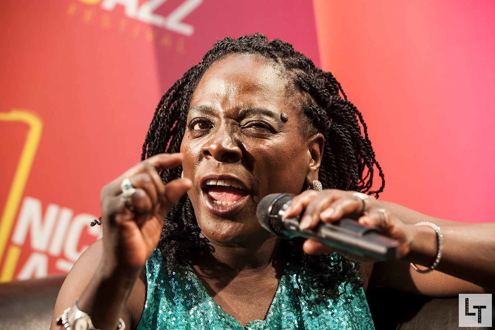Sharon Jones,Nice Jazz Festival le 12 Juillet 2012