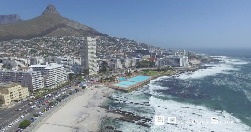 Drone Video Capetown Ocean Beach South Africa