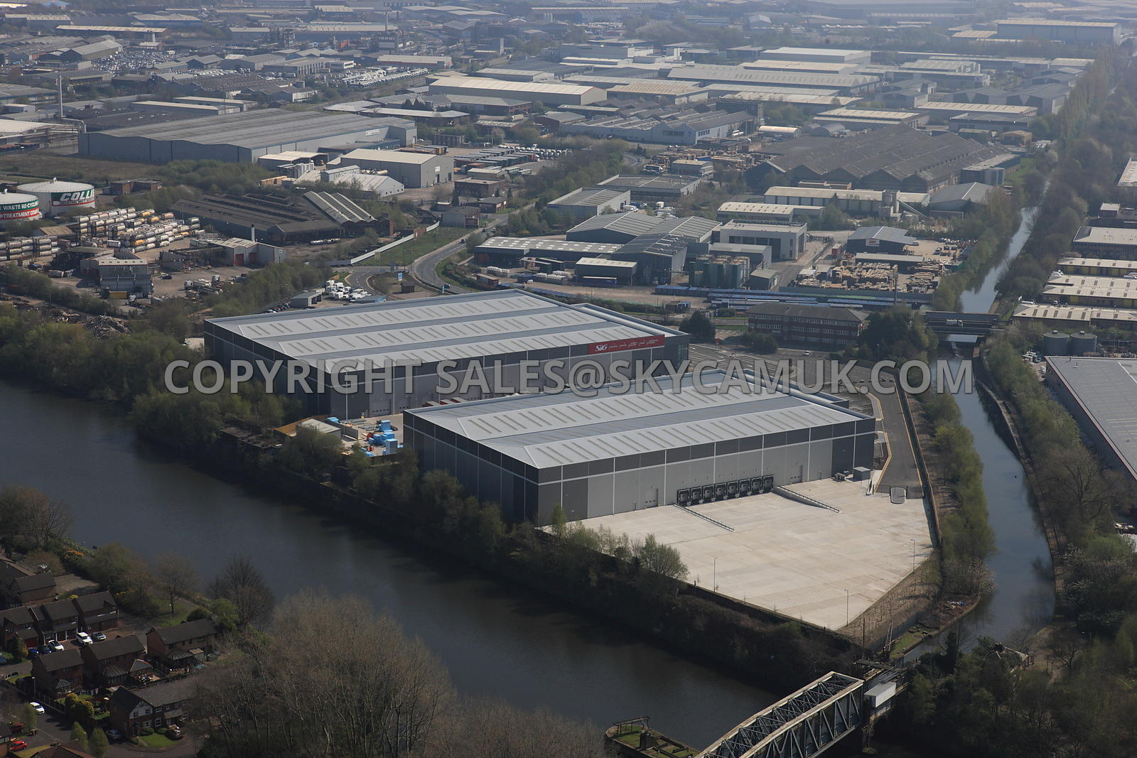 Manchester SIG Regional distribution centre Twining road warehousing development Trafford Park Estate