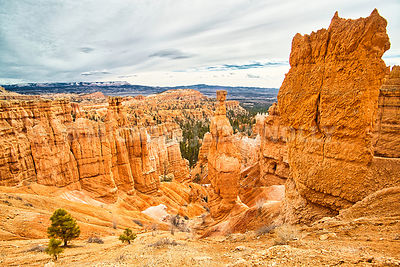 Bryce Canyon Overview- Near Tropic, Utah