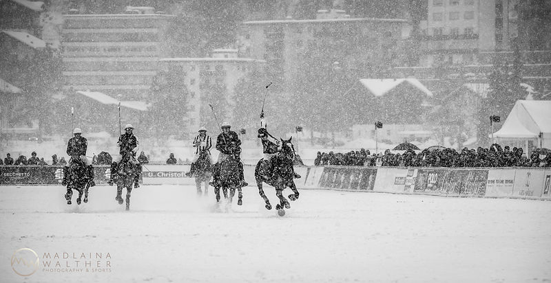 Snow Polo World Cup. St. Moritz, 2019.