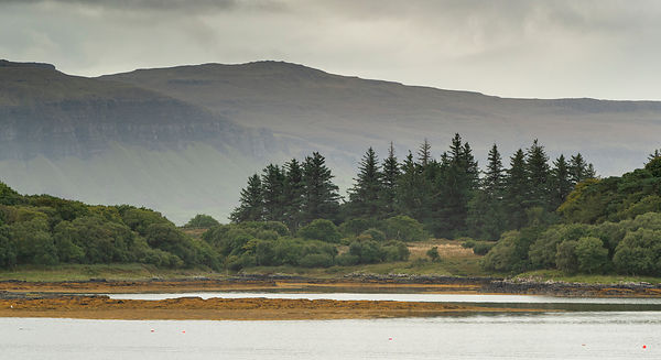 Ulva, with the Isle of Mull in the background