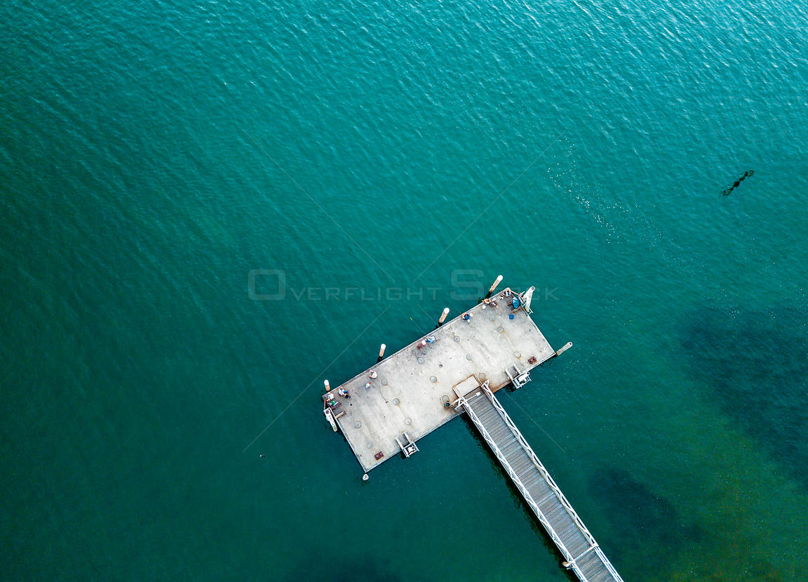 Jetty and pontoon at Sans Souci, Australia