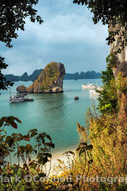 View of Halong Bay Vietnam