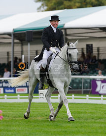 Craig Nicolai and JUST IRONIC - dressage phase,  Land Rover Burghley Horse Trials, 4th September 2014.
