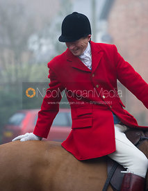 Nicholas Leeming - The Cottesmore Hunt at the Blue Ball 11/12