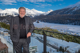 Juerg Marquard in seinem Penthouse