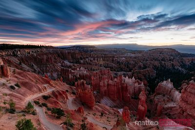 Alba al Bryce Canyon National Park, Utah, USA