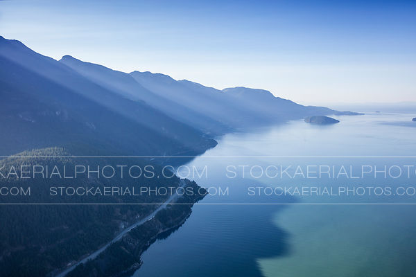 Sea to Sky Highway - Howe Sound