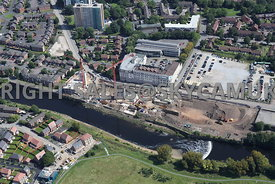 Construction of new Apartments Adelphi Wharf Adelphi Campus Adelphi Road Salford