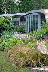 Contemporary garden, Natural garden, Wild garden, Digital, Grasses, Scenery, Summer, Veranda