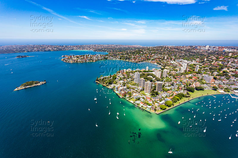 Darling Point and Sydney Harbour