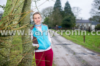 15th January 2016. Margaret Edgilll on her farm Mount Briscoe, County Offaly.Photo:Barry Cronin/www.barrycronin.com 087-95985...