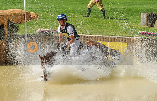 Clarke Johnstone and INCOGNITO III - CIC*** - Bramham Horse Trials 2013