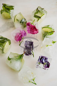 Flowers and Ice