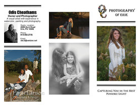 OC Photography Trifold Brochure