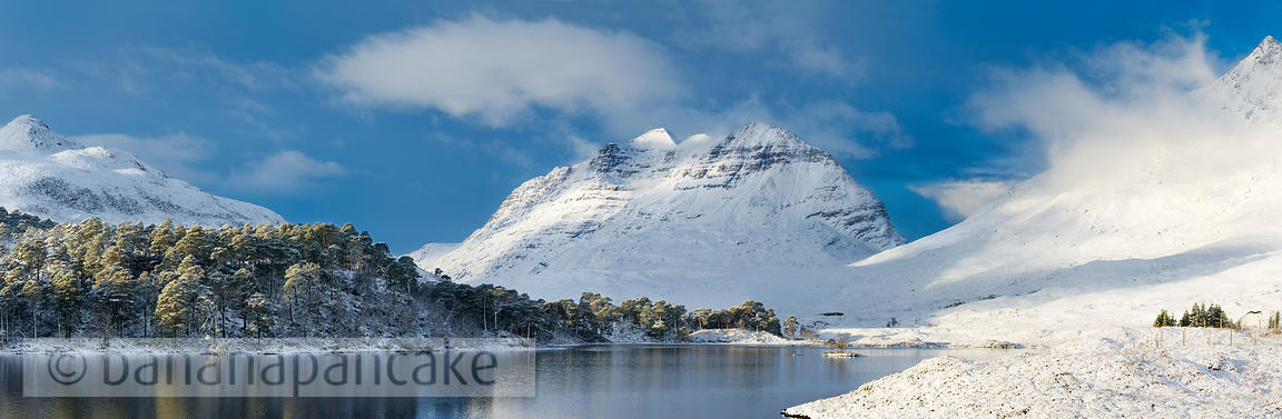 BP2285D - Liathach from Loch Clair, Glen Torridon