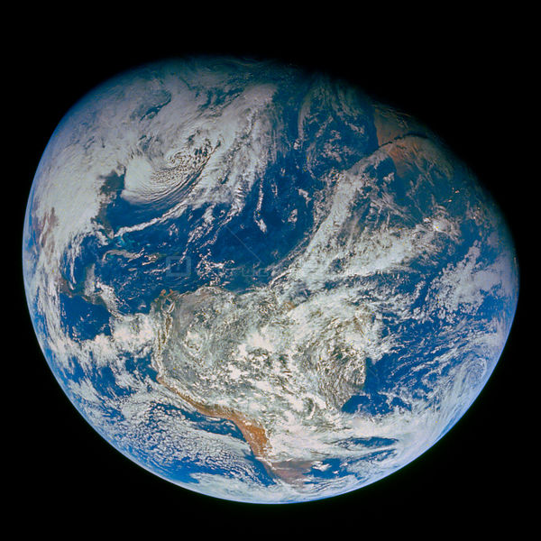 SOL SYSTEM Earth -- 22 Dec 1968 -- Before humanity ventured to the Moon, our view of our home planet consisted of what we cou...