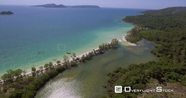 Beach Tropical Paradise of Koh Rong Cambodia