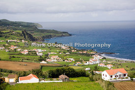Faeil island in the Azores