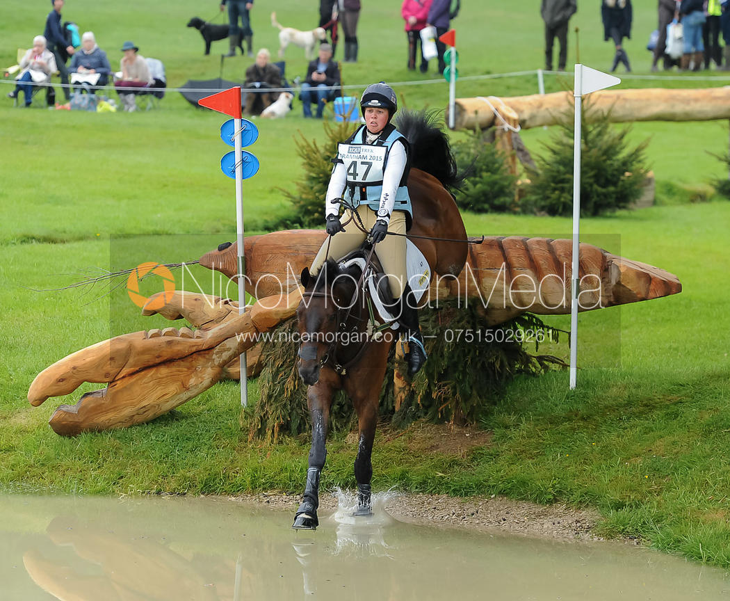 Kitty King and PERSIMMON - Bramham 2015