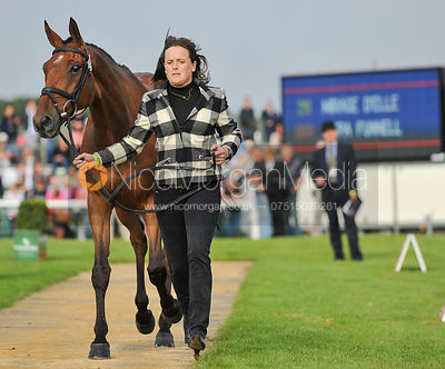 Pippa Funnell and MIrage D'Elle - 2nd Inspection - Burghley 2010