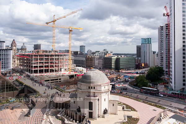 The redevelopment of Paradise Circus, Birmingham
