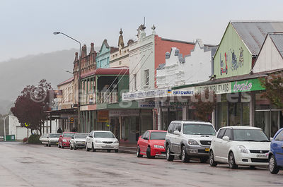 The Main Street in Lithgow