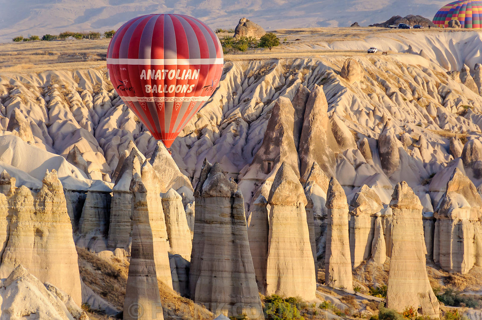 Balloon near Goreme.