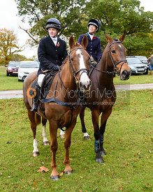 Etti Dale at Fitzwilliam Hunt Opening Meet 2018.