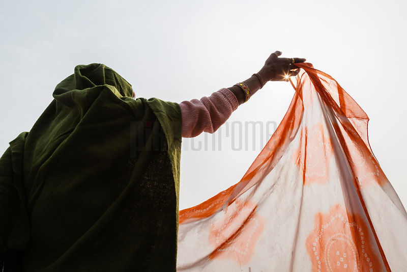 Pilgrim Drying Sari