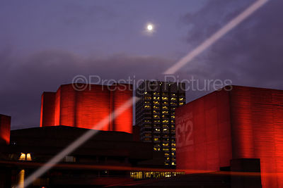 The National Theatre by Moonlight