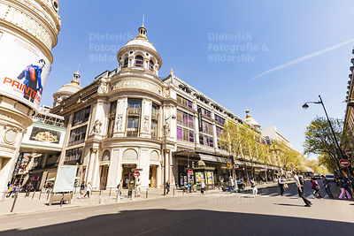 Kaufhaus Printemps, Blvd. Haussmann, Paris