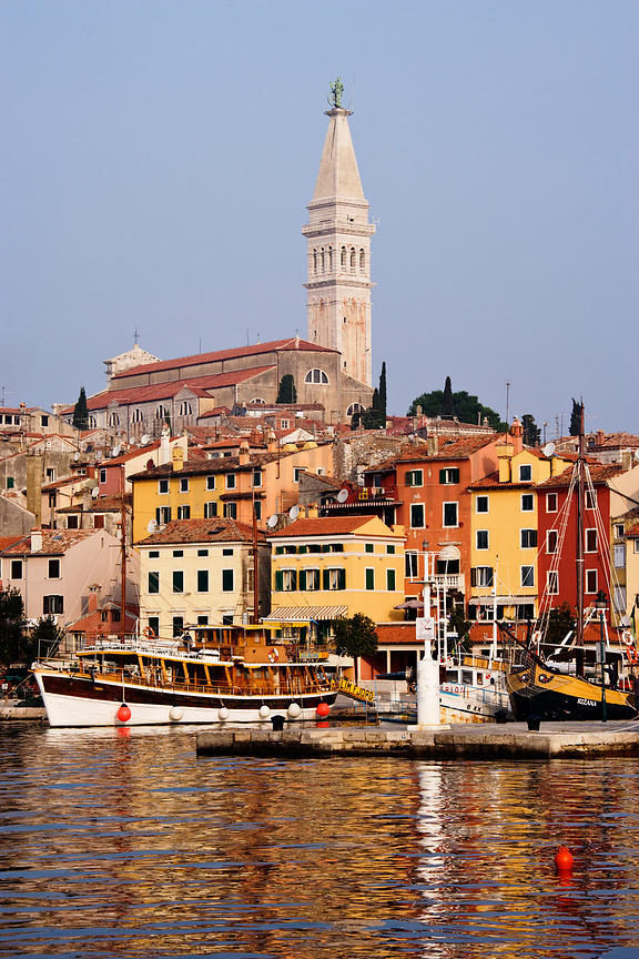 The Town of Rovinj, Istria, Croatia