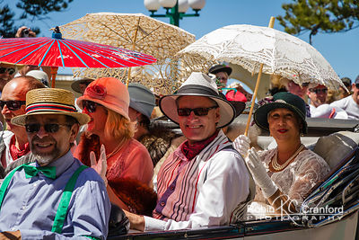 Art Deco Saturday 2012 - Vintage Car Parade.